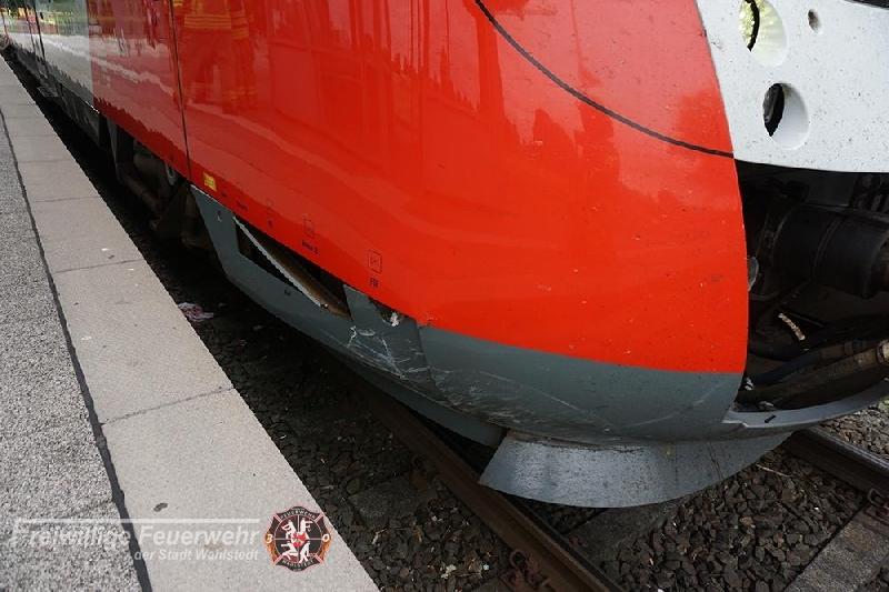 Bahnunfall PKW
